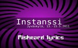 Instance of Purple - Misheard Lyrics